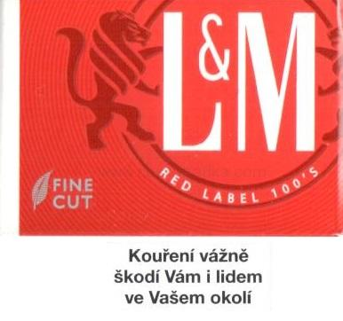 L&M red label 100