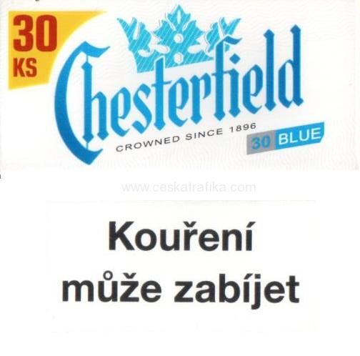 Chesterfield blue XXL 28