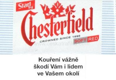 Start by Chesterfield 70 mm red soft