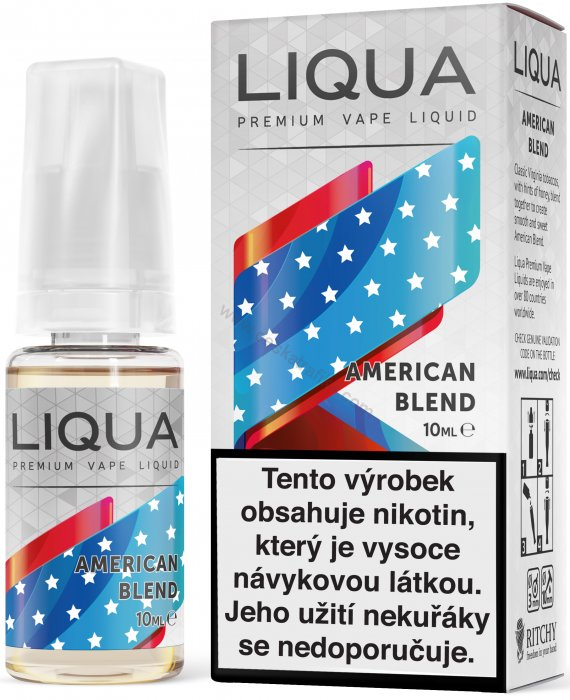 Liqua new elements American Blend 12 mg