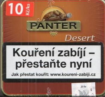 Doutníky Panter desert filter cigarillos 20ks