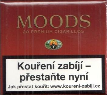 Doutníky Moods 20 premium cigarillos