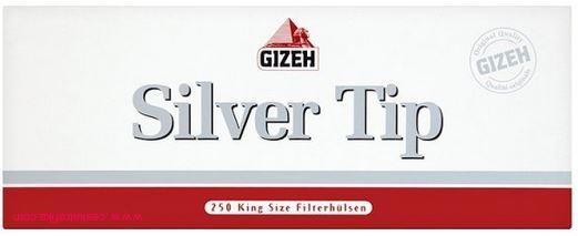 Dutinky Gizeh Silver Tip EXTRA 250ks