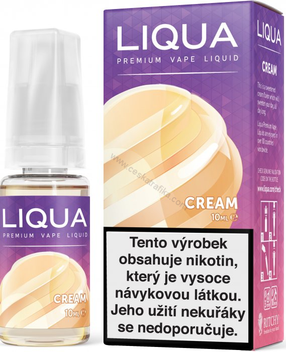 Liqua new elements Cream 12 mg