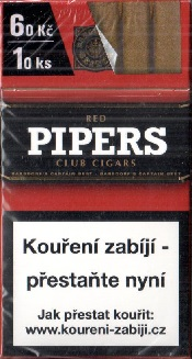Pipers club cigars red