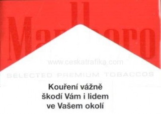 Marlboro red soft pack