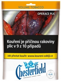 Tabák cigaretový Chesterfield blue 71g