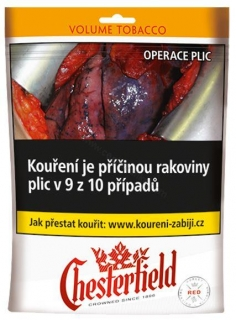 Tabák cigaretový Chesterfield red 71g