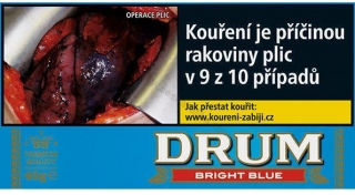Tabák cigaretový Drum Bright Blue 40g