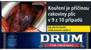 Tabák cigaretový Drum Original 40g