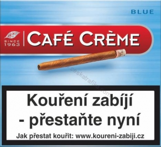 Cafe Creme blue 10 ks