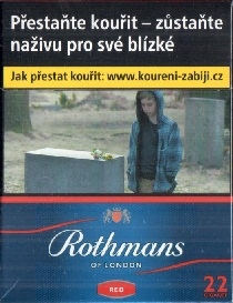 Rothmans red 22