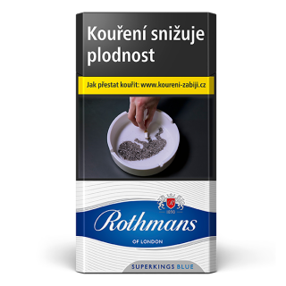 Rothmans superkings blue 100  / Rothmans red 100