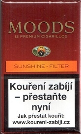 Doutníky Moods sunshine filter 12 ks