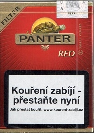 Doutníky Panter red filter cigarillos 14ks