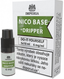 Nikotinová báz IMPERIA Dripper 5x10ml PG30-VG70 6mg