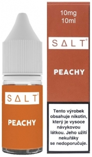 Liquid Juice Sauz SALT CZ Peachy 10ml - 10mg