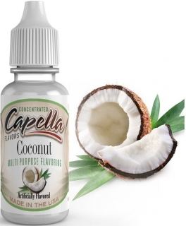 Příchuť Capella 13ml Coconut (Kokos)