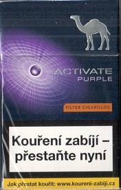 Camel purple activate 10ks