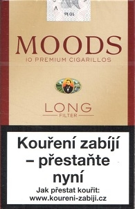 Moods cigarillos long filter 10ks