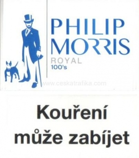 Philip Morris royal 100 modré