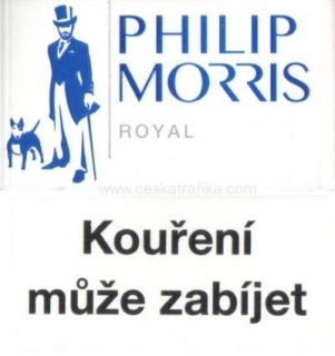 Philip Morris royal modré