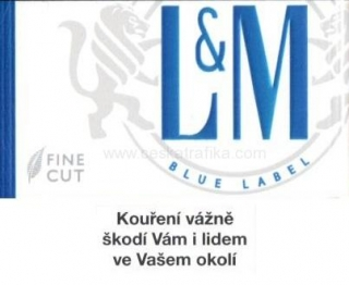 L&M blue label