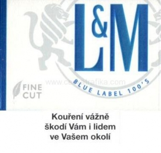 L&M blue label 100