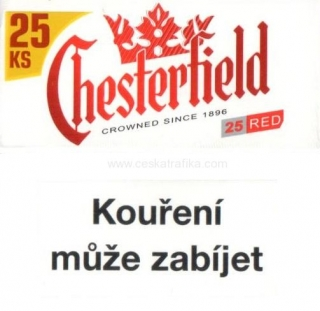 Chesterfield red XL 23