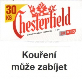 Chesterfield red XXL 28