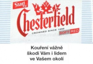 Start by Chesterfield red 70 mm