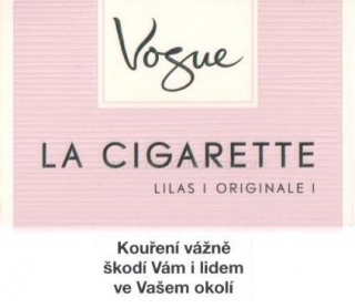 La Cigarette Vogue lilas