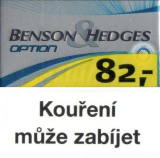 Benson & Hedges option s kapslí