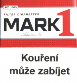 Mark Adams No.1 red 100