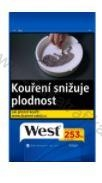 Tabák cigaretový West blue 105g