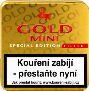 Villiger Gold mini filter special edition 20 ks