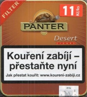 Panter filter desert cigarillos 20ks