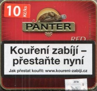 Panter red cigarillos 20ks