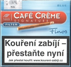 Café Créme FINOS Filter blue 10 ks