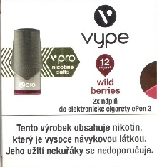 Náplň Vype Just Wild Berries