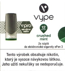 Náplň Vype Crushed Mint