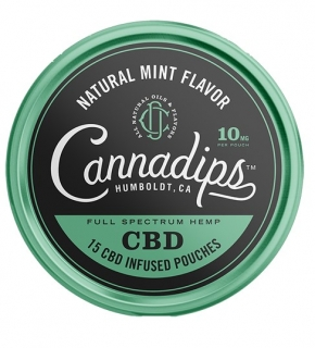 Cannadips Natural Mint 150mg