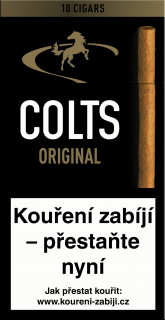 Colts original 10 ks cigarillos bez filtru