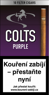 Colts purple 10 ks cigarillos s filtrem