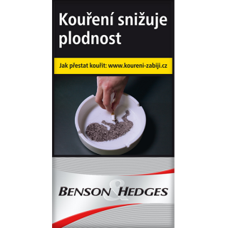 Benson & Hedges silver 100